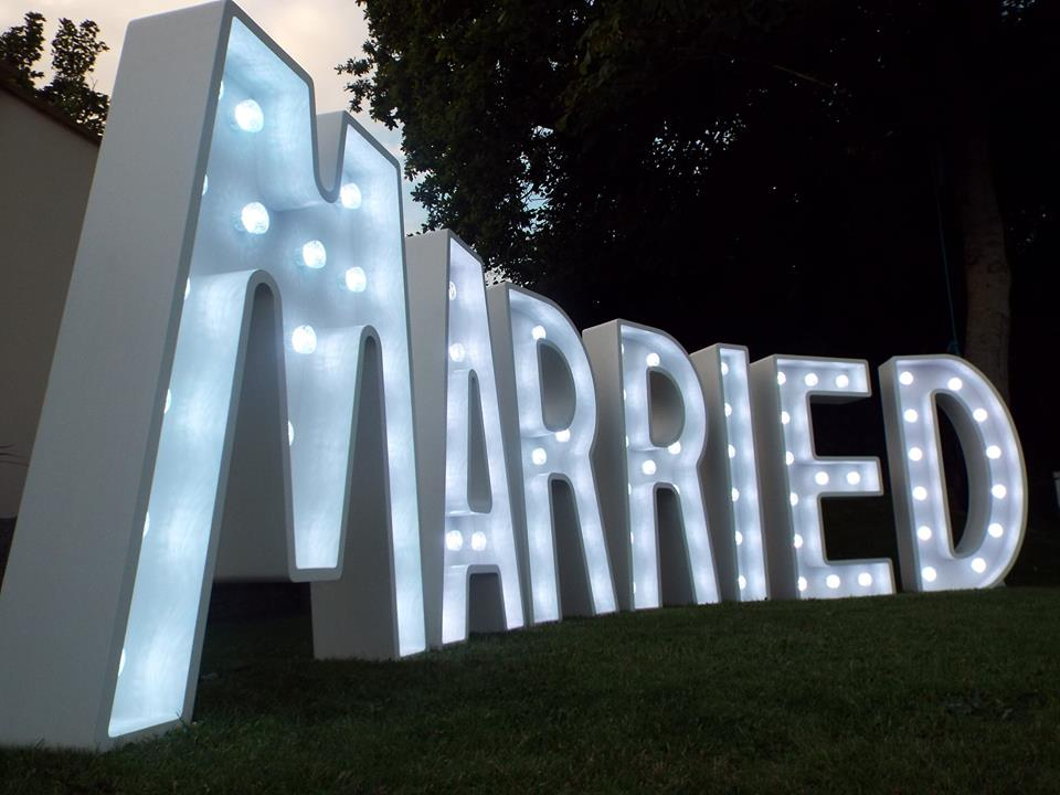 Image result for Giant Light Up Letters To Hire