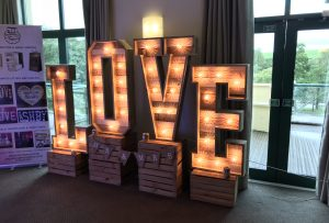 Light - Up -Letters - Wales - Rustic - love - Letters